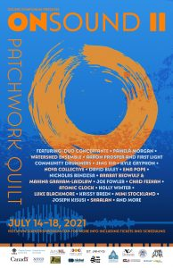 ONSOUND II: Patchwork Quilt festival poster