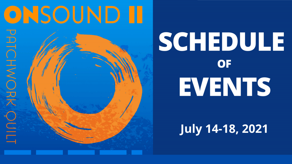 ONSOUND II schedule of events