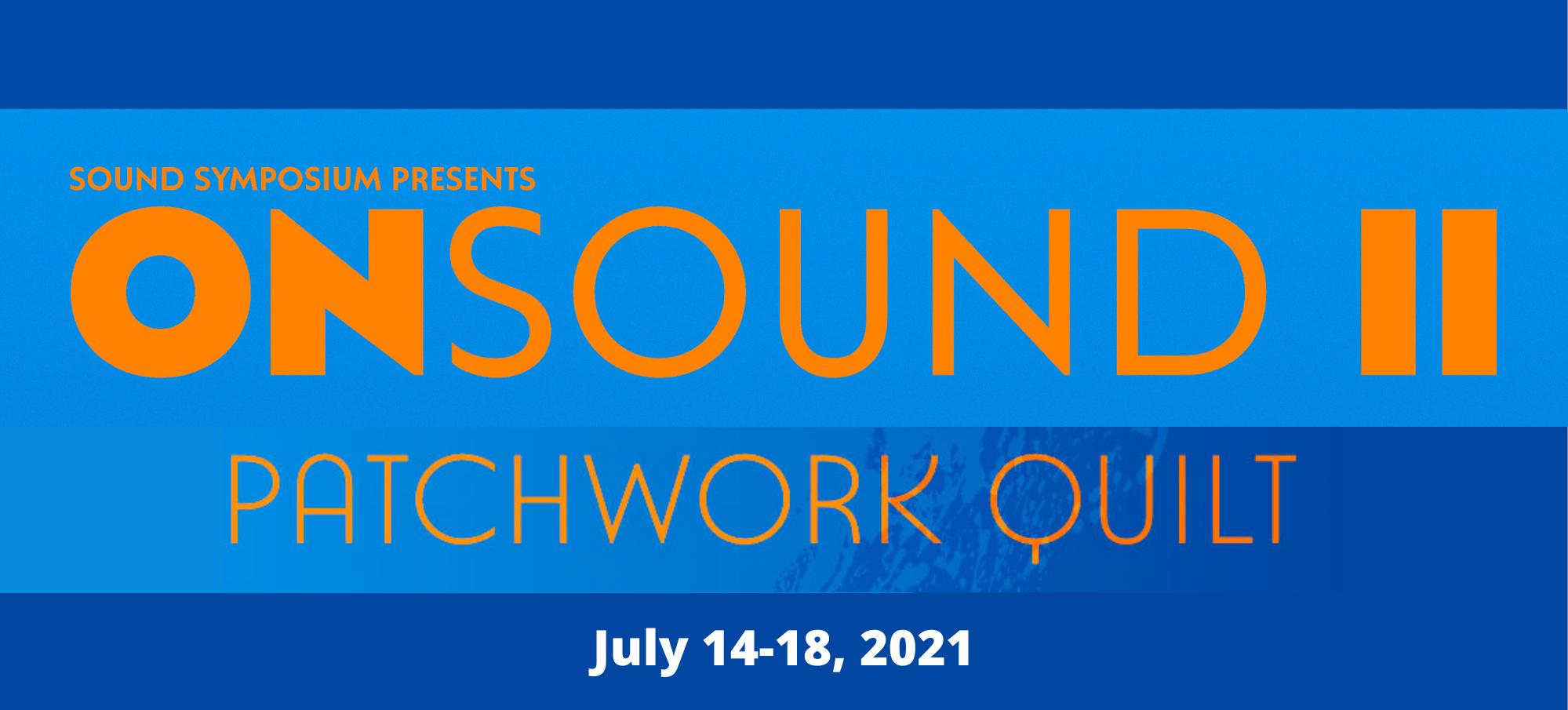 ONSOUND II: Patchwork Quilt banner